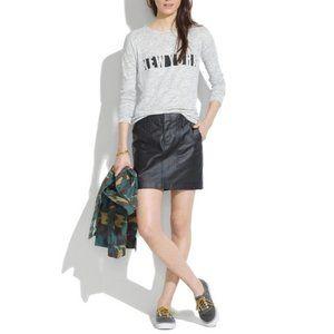 Madewell Walker Mini in Waxed Cotton Size 2